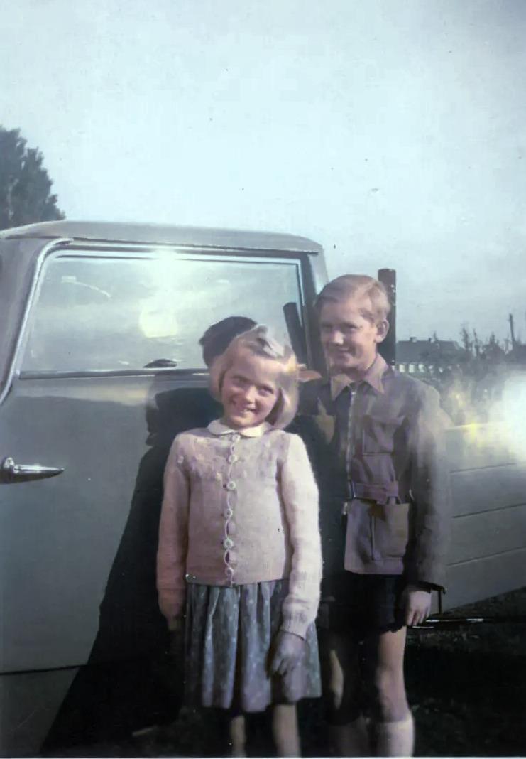 HuU 1951 mit Hanomag Dreirad