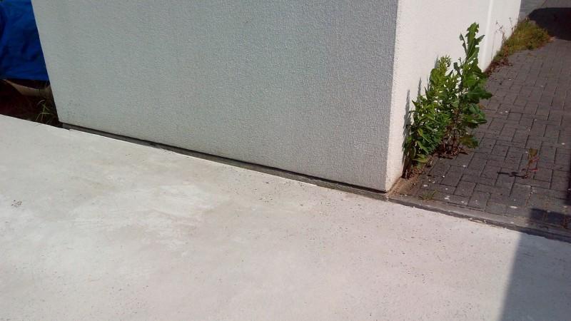 garage schief