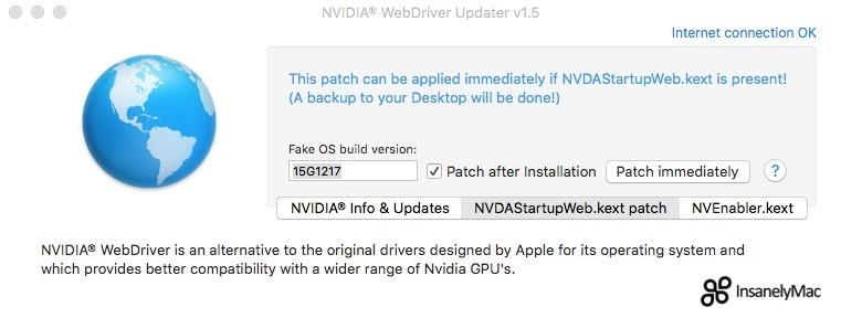 webdriver updater