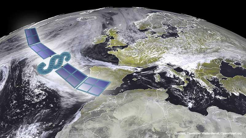 DWD-Gesetz, Quellen: Deutscher Wetterdienst, Openclipart.org (j4p4n)