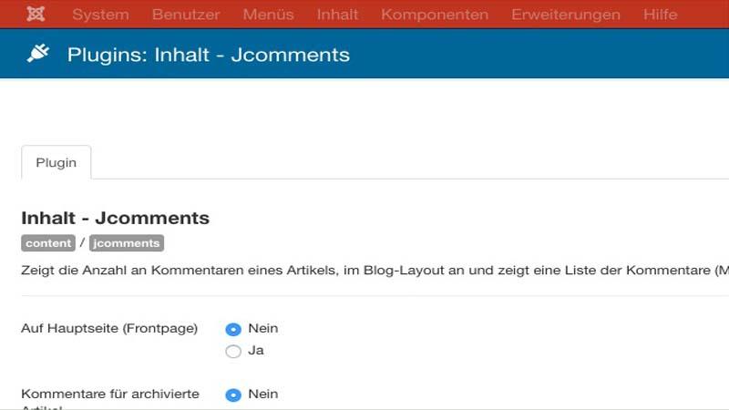 Screenshot Joomla JComments thumb