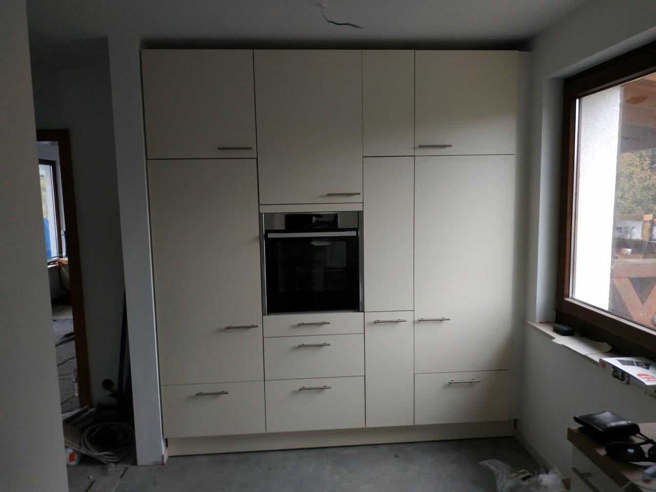 Kühlschrank-Einbausatz kam endlich an