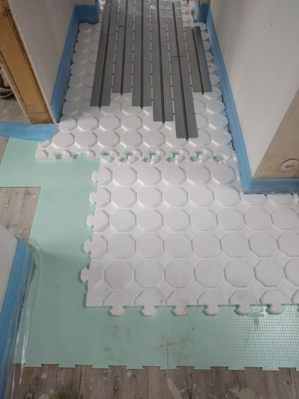 Trägerplatten Flur DG