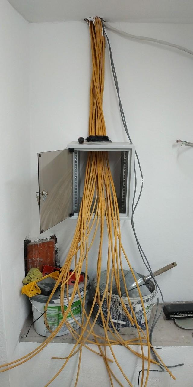 Netzwerk privathaushalt