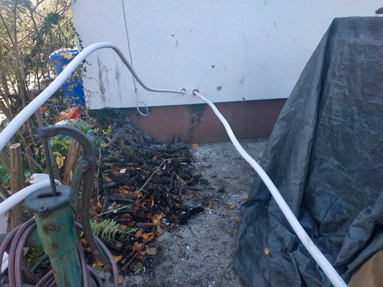Kältemittelleitungen