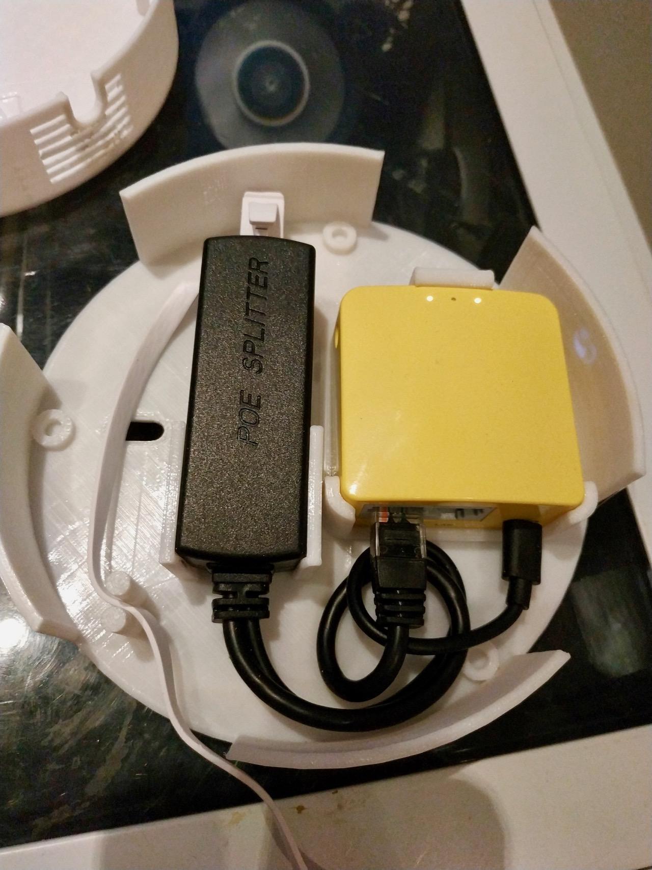 router poe gehäuse