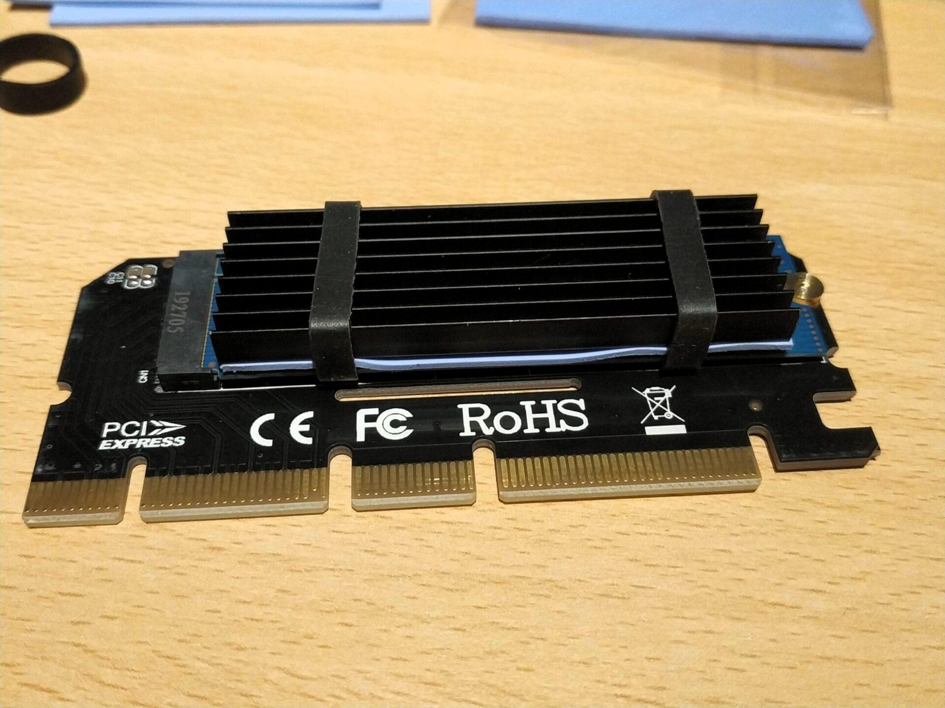 m.2 ssd auf pcie adapter