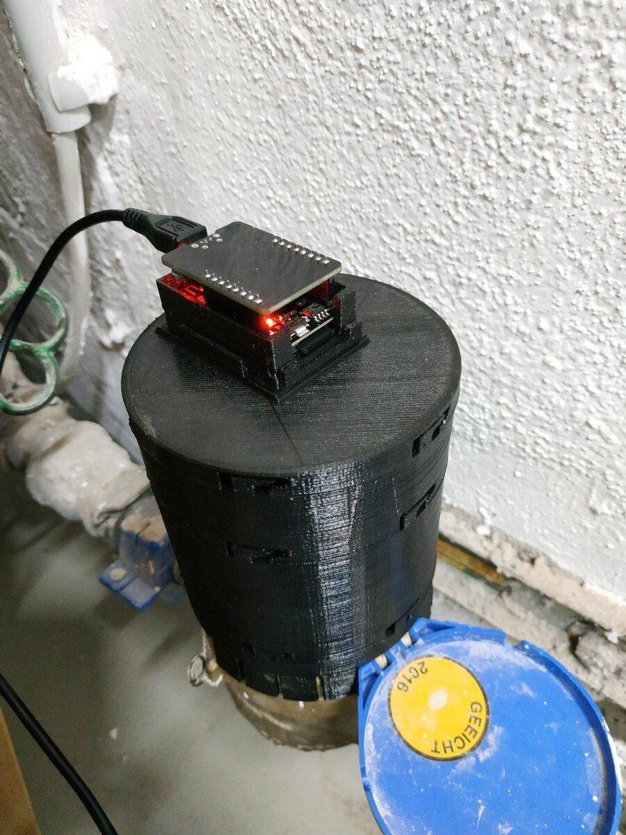 Wasseruhr smart machen
