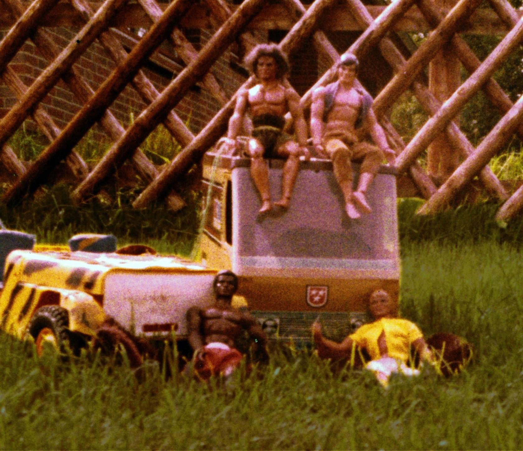 Big Jim Camper, Jeep, Figuren