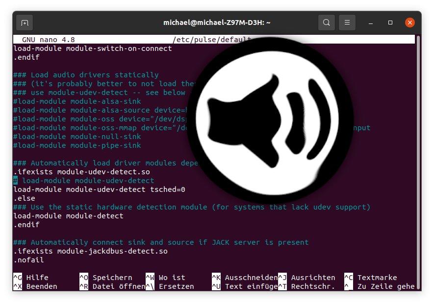 Ubuntu Sound verzerrt
