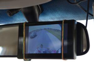 monitor innenspiegel wohnwagen kamera